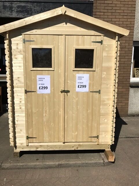 Charmant WOODEN GARDEN SHEDS FOR SALE