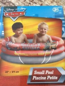 "Kiddy ""CARS""  Pool.  32"" diameter.  Great for kids 3 and over."