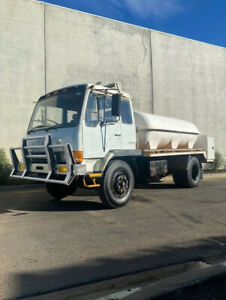1986 Mitsubishi FM515 Water Truck  -Ex SA Fire  -Turbo Diesel Engine Bell Park Geelong City Preview