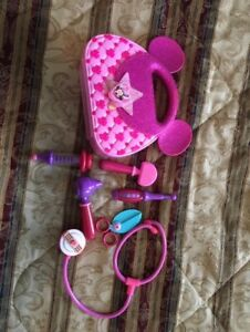 Minnie Mouse DOCTOR BAG with TOOLS, toddlers and kids toy
