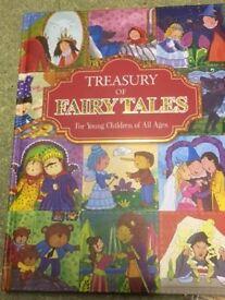 Treasury of Fairytales Story Book