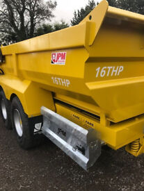new 16 ton dump trailer jpm