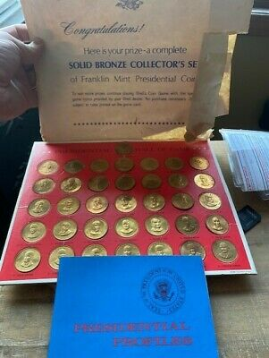 1968 Presidential Hall of Fame Coins Full