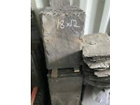 Reclaimed welsh roof slates 18x12