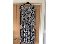 SIZE 18 MATERNITY FLORAL DRESS