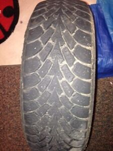 One year used Winter tires(All 4 tires-Goodyear) Kitchener / Waterloo Kitchener Area image 3