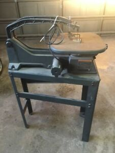 Scroll Saw 20 in. + Manual & extra Blades