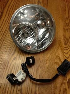 Harley Davidson Headlight, Taillight, Lower Fender Lens + Bulbs