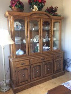 Large Buffet hand Made in Quebec 35 years ago