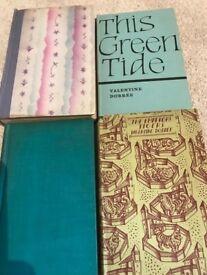 4 rare Valentine Dobree books