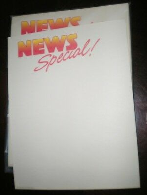 Novelty Fun Letterhead News Special 45 Sheets