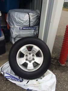 TOYOTA TACOMA AL RIMS AND WINTER TIRE PACKAGE