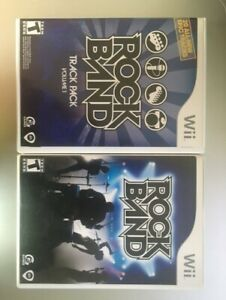 2 Rockband games on Wii $5 for both games