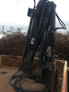 Hiab 015 folding crane, comes complete with all controls PTO pum