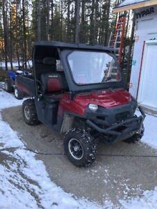 TRADES? 2009 Polaris Ranger or 700 XP OBO WAS 9650 NOW 9250