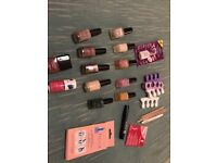 Huge selection of brand new nail polishes and accessories