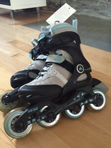 NEUF Rollerblade K2 Exotech junior extensible taille 11 à 2 US