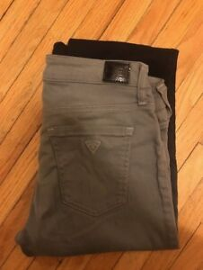 GUESS Power Skinny Grey to Black Ombre Rarely worn
