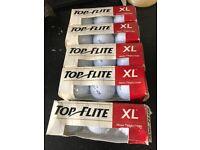 Top Flite XL High Trajectory golf balls