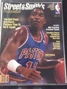 Hand signed magazine cover by Isiah Thomas Broken Hill Central Broken Hill Area Preview