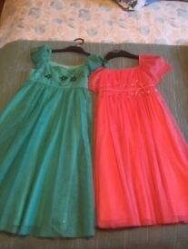 3 occasion dresses from Monsoon/John Lewis age 9 - perfect condition/brand new