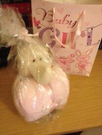 Baby girl gift comforter blanket newborn