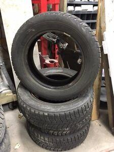4 pneus d'hiver 185/65R15