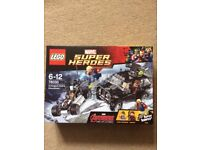 Brand new Lego Marvel Super Heroes