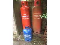 Calor2x 47KG Gas Bottle Propane and 1x15KG Gas Bottel