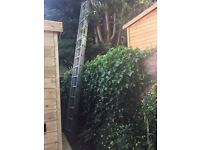 Youngman Trade 400 2 Section Extension Roof Ladder - 4.27m