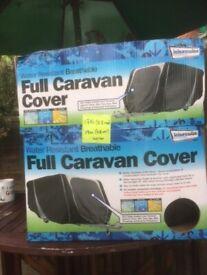 CARAVAN COVER 17ft X 19ft (5.2m x 5.8m) approx.