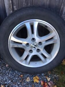 16 inch Honda rims and tires