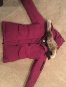 Used Canada Goose Montebello Parka For Sale (Womens Small Berry)
