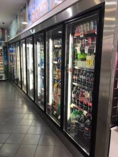 Shop close down commercial fridge and freezer for sale