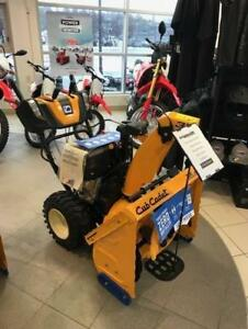 2018 3X30HD Cub Cadet Snowblower - FACTORY AUTHORIZED CLEARANCE now $200.00 REBATE !! only $1799.00