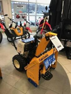 2018 3X30HD Cub Cadet Snowblower - FACTORY AUTHORIZED CLEARANCE now $150.00 REBATE !! only $1849.00
