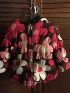 Winter Jacket  girl's toddler size 2