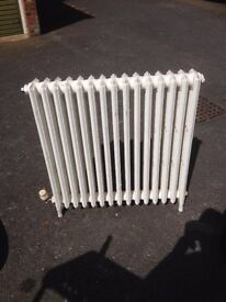 old cast iron radiator for period house