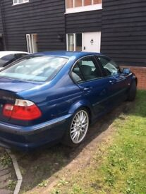 BMW 325 MSport Automatic grey leather, excellent condition