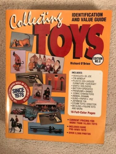 Collecting Toys Book by Richard O