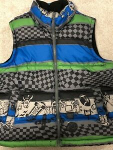 Boys Puffer Vest Size Medium (8)