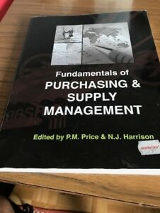 Purchasing and supply management buy or sell books in ontario fundamentals of purchasing and supply management textbook fandeluxe Images