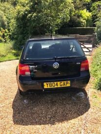 VW GOLF SE TDI BLACK