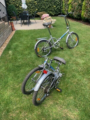 Pair of Folding Cycles (in fantastic condition) - sold as a pair,