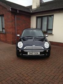 Black Mini 2004 One for Sale