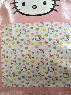 Tenda tendone con passanti Hello Kitty tende camera bambina 150x270 cm farfalle