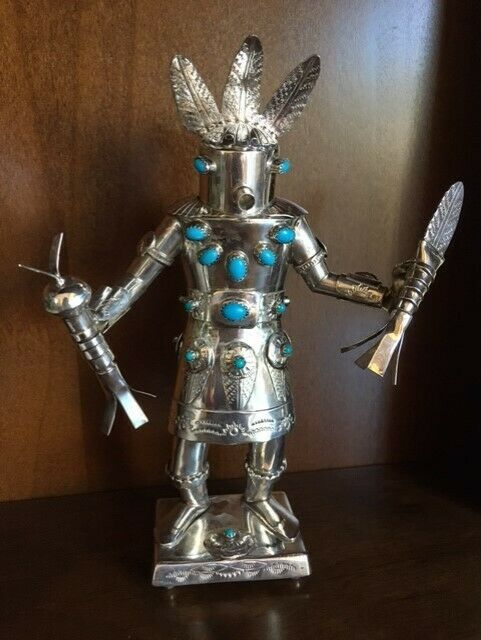 Sterling Silver Kachina Doll