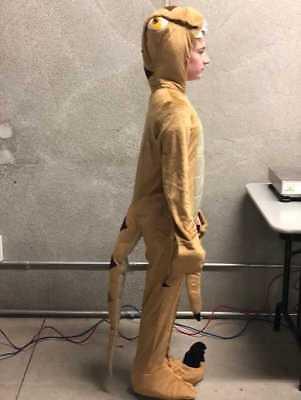 CHILDS RAPTOR DINOSAUR COSTUME SIZE - Raptor Kostüm
