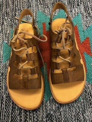 """Sundance Catalog """"Pearl Sandals"""" Women's Lace Up by Kork-Ease"""