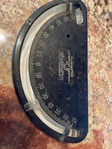 Clinometer, U.S. Military Nautical, 1944